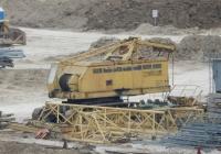 Кран ДЭК-50 на строительстве электростанции. Севастополь