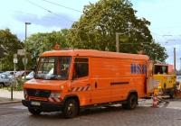 Фургон Mercedes-Benz Vario 814D #FG-BS 169, ремонт тарамвайных путей . Германия, Берлин, Хельзингфорзер плац