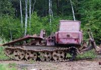 Трелёвочный трактор ТДТ-55А. Московская область