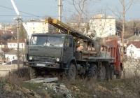 Буровая установка УРБ-2А-2 на шасси КамАЗ-43101 #Х 632 НО 93. Севастополь