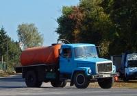 Ассенизационная машина КО-503В на шасси ГАЗ-3307 #7667 КУР. Курская область, слобода Белая
