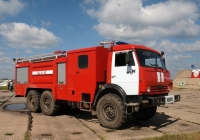 Пожарная автоцистерна АЦ-6,0-40(43118)-53-ТВ на шасси КамАЗ-43118 #6137 АН 50. Иваново, аэродром Северный