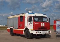 Пожарная автоцистерна АЦ-3,2-40/4(43253)-001МС  на шасси КамАЗ-43253 #А 945 ЕВ 37. Иваново, аэродром Северный