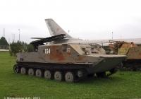 Установка разминирования УР-67 на базе БТР-50ПК №134. Самарская область, Тольятти, Технический музей ВАЗа