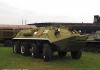 Бронетранспортёр БТР-60ПА1 №231. Самарская область, Тольятти, Технический музей ВАЗа
