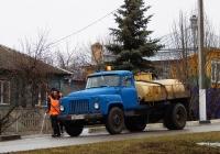 Автоцистерна на шасси ГАЗ-52-01 #Е 869 УМ 31. Белгородская область, г. Бирюч, Крупская улица