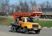 Автоподъёмник АП-17А-04 на шасси ГАЗ-3307 #Н 560 ТА 31. Белгородская область, г. Алексеевка, улица Тимирязева