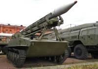 Пусковая установка 2П16 на базе танка ПТ-76. Санкт-Петербург, Музей артиллерии, инженерных войск и войск связи