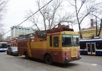 Троллейвоз КТГ-2 №406. Москва, Миусский переулок (у 4-го троллейбусного парка имени П.М.Щепетильникова)