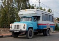 Вахтовый автобус МВГ-01 на шасси ГАЗ-53-12 #А 749 ХО 31. Белгородская область, г. Алексеевка, Республиканская улица
