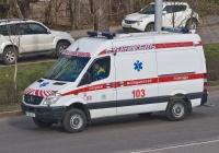 Реанимобиль на базе Mercedes-Benz Sprinter. Алматы, улица Саина