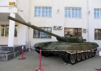 Основной танк Т-72. Свердловская область, Екатеринбург, улица Челюскинцев