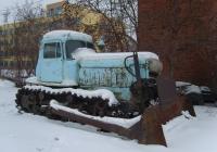 Бульдозер ДЗ-42 на  базе трактора  ДТ-75М «Казахстан» #2800 ОЕ. Омская область, город Омск, Улица Ватутина
