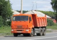 Самосвал КамАЗ-45147 #В 186 РО 154. Новосибирск, улица Одоевского