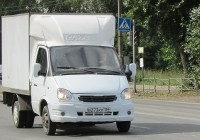 """Фургон 2730-0000010 на шасси ГАЗ-3302 """"Газель"""" #В 273 КР 154. Новосибирск, улица Одоевского"""