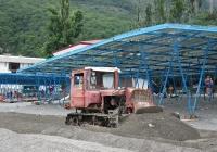 Бульдозер ДЗ-42П на базе трактора ДТ-75М. Крым, Партенит