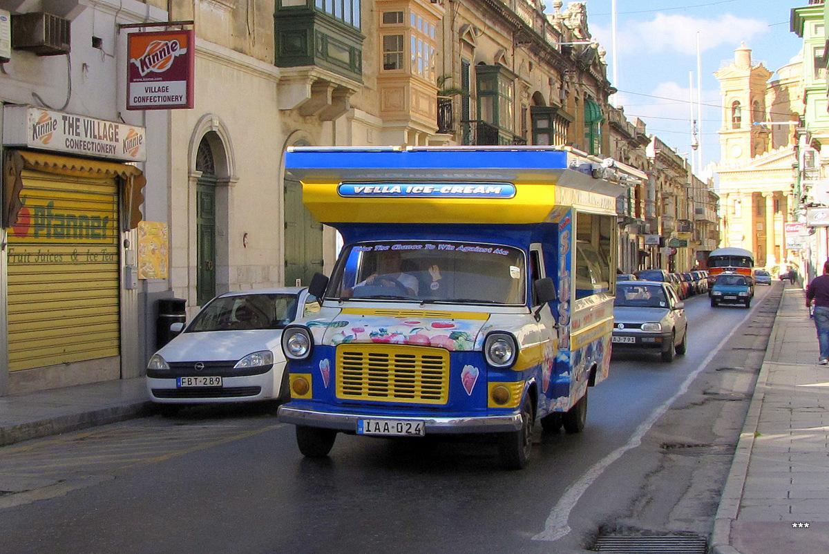 """Автолавка """"Мороженое"""" на шасси Ford Transit #IAA 024. Мальта, Моста"""