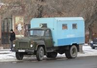 Аварийная машина горводоканала на шасси ГАЗ-52- 04  #Х 999 КЕ 45. Курган, улица Куйбышева