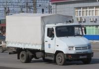 Бортовой грузовик ЗиЛ-5301АО #У 495 АМ 45. Курган, Станционная улица