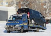 Эвакуатор на шасси Mercedes-Benz Sprinter #911 CDA 15. Курган, Троицкая площадь