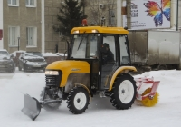 Трактор Jinma-244. Курган, улица Куйбышева