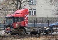 Седельный тягач Scania R380* #С 088 АЕ 04. Курган, Городской сад