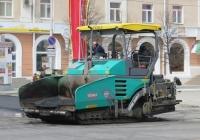 Асфальтоукладчик Vögele Super 1600-2. Курган, улица Гоголя