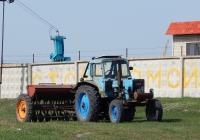 """Трактор МТЗ-80 """"Беларусь"""" с сеялкой СЗ-3,6. Белгородская область, г. Алексеевка"""