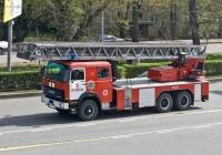 Пожарная автолестница Magirus DLK 50  на шасси IVECO 260-32 #684 KP 02. Алматы, улица Саина