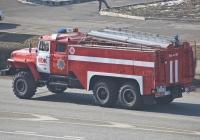 Пожарная автоцистерна АЦ-6-40(4320) на шасси Урал-4320-40 #631 KP 02. Алматы, улица Саина