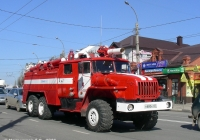 Пожарная автоцистерна АЦ-7,5-40(4320)-006МИ на шасси Урал-4320-40 #Н 800 АТ 37. Иваново, улица 10-го Августа