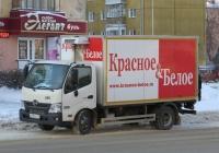 Фургон 5764N на шасси Hino 300 #В 290 ОР 174. Курган, Пролетарская улица