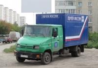 Почтовый фургон на шасси ЗиЛ-5301ЮО #М 780 ВО 45. Курган, улица Бурова-Петрова