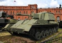 Самоходная артиллерийская установка СУ-76М. Санкт-Петербург, Музей артиллерии, инженерных войск и войск связи