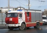 Пожарная автоцистерна АЦ-3,2-40/4(43253)-001МС на шасси КамАЗ-43253 #У 444 КВ 45. Курган, улица Куйбышева