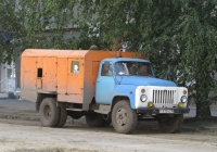 Машина для текущего ремонта дорог и тротуаров МТРДТ на шасси ГАЗ-53-12 #Т 810 АС 45 . Курган, улица Куйбышева