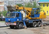 Экскаватор-планировщик UDS-114 на шасси Tatra 815NT #О 864 КУ 45. Курган, улица Куйбышева