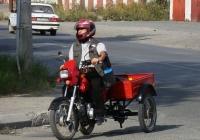 Грузовой мотоцикл(мокик) ЗиД-50-02. Свердловская область, Серов,  улица Фуфачева