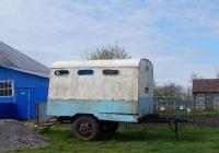 Прицеп-фургон одноосный автомобильный. Воронежская область, п. Анна, улица Разина