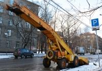 Машина погрузочная универсальная Амкодор 37 (МПУ-1). Москва, Часовая улица