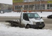 Эвакуатор на шасси Ford Transit FT 350 #Т 532 КН 45. Курган, Сибирская улица