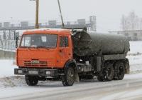 Машина вакуумная типа КО-505А на шасси КамАЗ-53213 #М 002 КК 45. Курган, улица Климова