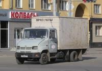 Фургон на шасси ЗиЛ-5301БО #С 808 ВВ 45. Курган, улица Коли Мяготина