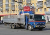 Бортовой автомобиль с КМУ Nissan Diesel* #К 928 КМ 45. Курган, Пролетарская улица