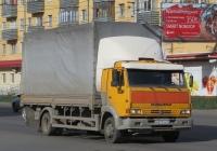 Бортовой грузовик КамАЗ-4308 #М 271 ЕН 45. Курган, Пролетарская улица