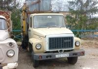 Мусоровоз КО-413-3 на шасси ГАЗ-3307  #022-31 СН . Полтавская область, Великая Багачка