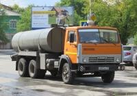 Машина вакуумная типа КО-505А на шасси КамАЗ-53213 #М 003 КК 45. Курган, улица Куйбышева