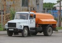 Ассенизационная машина КО-503В-2 на шасси ГАЗ-3309 #Х 004 КЕ 45. Курган, Сибирская улица