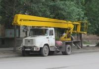 Автоподъёмник ВС-22-04 на шасси ЗиЛ-433362 #С 882 КС 45. Курган, улица Томина