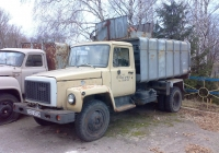 Мусоровоз КО-413-3 на шасси ГАЗ-3307 #022-31 СН. Полтавская область, Великая Багачка